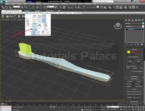 How to Make Tooth Brush in 3D Studio Max - Designs Mag
