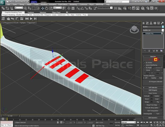 toothbrush 3d 28 Making of Toothbrush in 3D Max