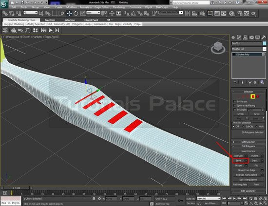 toothbrush 3d 29 Making of Toothbrush in 3D Max
