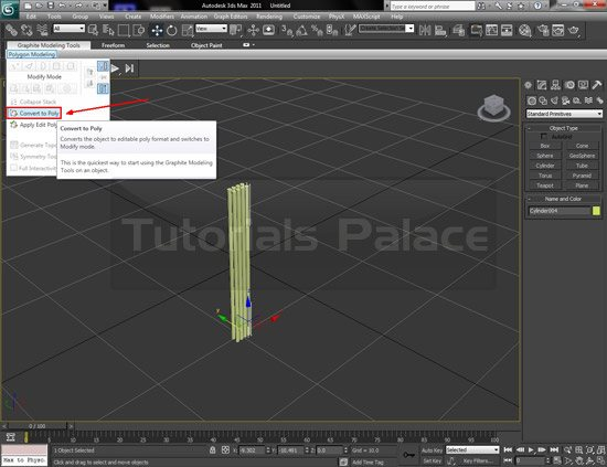toothbrush 3d 3 Making of Toothbrush in 3D Max