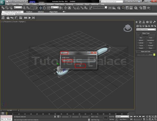 toothbrush 3d 31 Making of Toothbrush in 3D Max