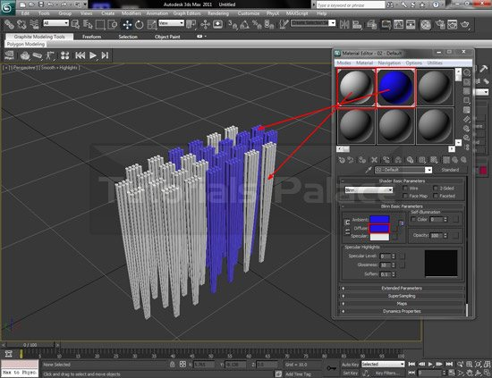 toothbrush 3d 9 Making of Toothbrush in 3D Max