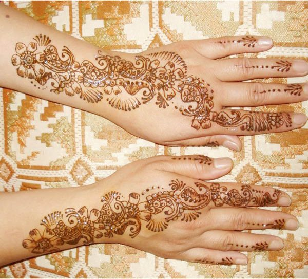Fashion print trends 2017 - 100 Beautiful Arabic Mehndi Designs