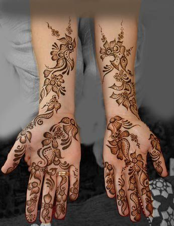 100+ Beautiful Arabic Mehndi Designs