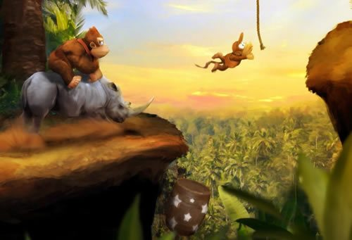 DKC by Orioto 135 Amazing Video Game Wallpapers