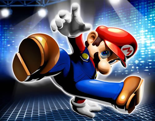 Dance Dance Revolution   Mario Mix 135 Amazing Video Game Wallpapers