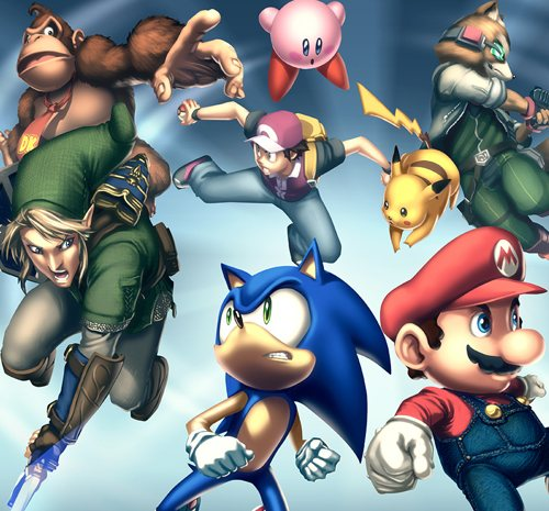 Gamepro Cover   Smash Bros by UdonCrew 135 Amazing Video Game Wallpapers
