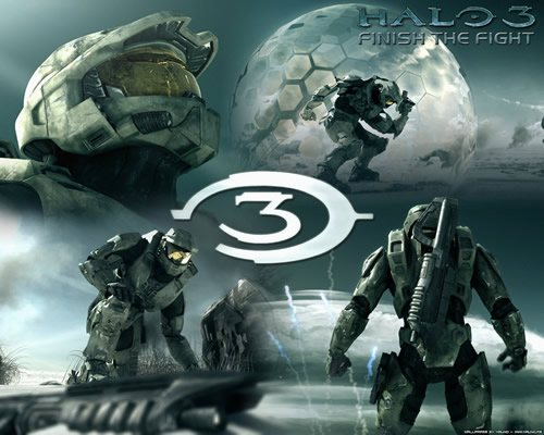 Halo 3   Finish the Fight 2007 135 Amazing Video Game Wallpapers