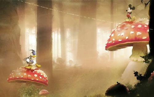 Mickey and Donald by Orioto 135 Amazing Video Game Wallpapers