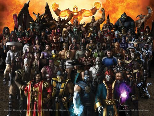 Mortal Kombat Armageddon  D by DiLaRa94 135 Amazing Video Game Wallpapers