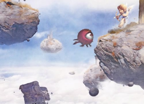 Up in the sky by Orioto 135 Amazing Video Game Wallpapers