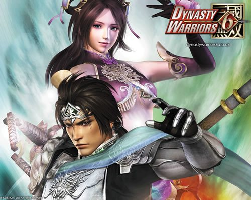 diao chan and zhao yun 135 Amazing Video Game Wallpapers