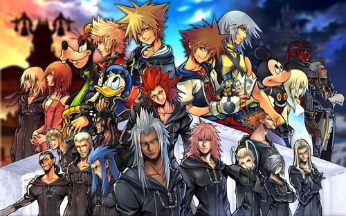 kingdom hearts ii 11c 135 Amazing Video Game Wallpapers