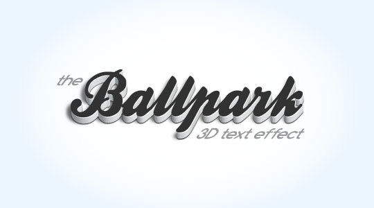 45 Amazing and Cool 3D Typographic Text effect Tutorials - Designs Mag