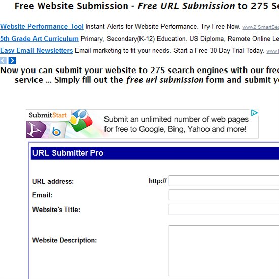 TOP Best Free URL Submission Websites | DesignsMag
