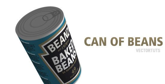 07 02 can of beans 42 Stunning Collection of 3D Illustrator Tutorials