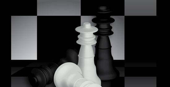 07 15 3d chess scene 42 Stunning Collection of 3D Illustrator Tutorials