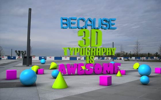 DesignsmagTypography013 125+ Awesome Typography Collection