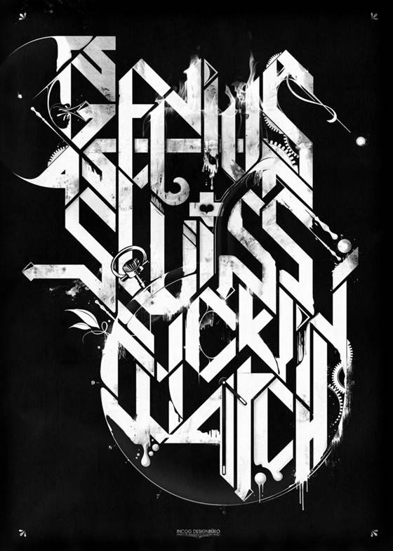 DesignsmagTypography021 125+ Awesome Typography Collection