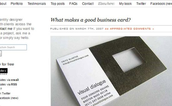 what makes good business card print design tutorials Collection of Remarkable Tutorials of Print Ready Designs