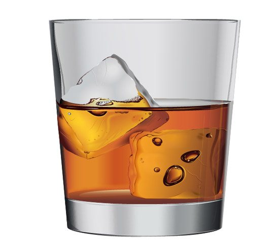 whiskey on the rocks 42 Stunning Collection of 3D Illustrator Tutorials