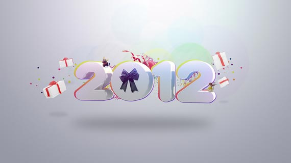 45 Fantastic New Year 2012 Wallpapers - Designsmag