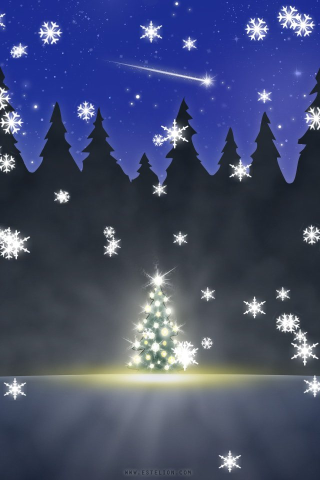 HD wallpapers moving christmas wallpaper iphone 4 epb