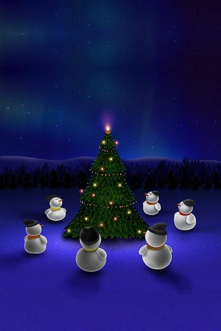 70 Christmas Wallpapers for Iphone 4 and 4S - Designsmag