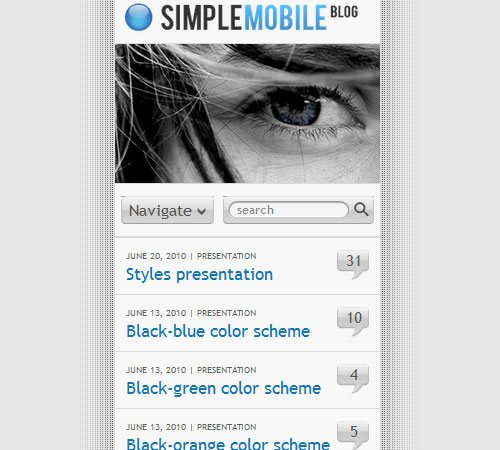 25 Professional Mobile WordPress Themes - Designsmag