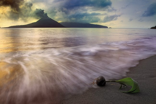 Born In Krakatau Wonderland Landscape Photography   Real ?