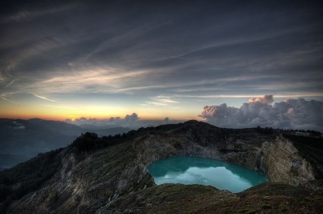 Kelimutu Volcan Wonderland Landscape Photography   Real ?