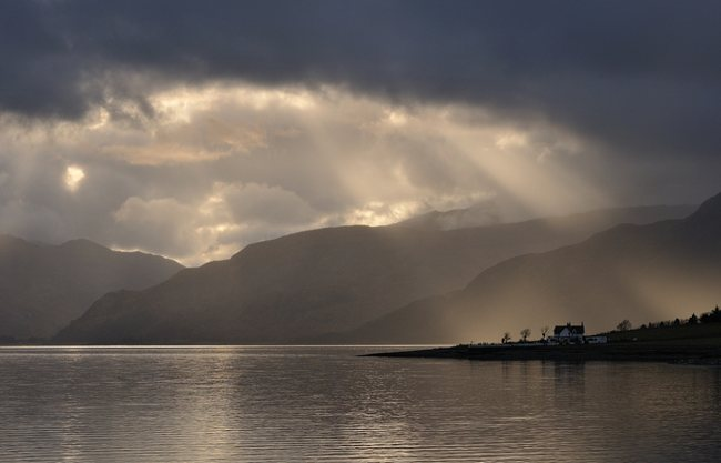 Loch Linnhe Wonderland Landscape Photography   Real ?