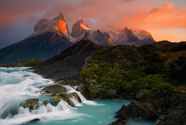 Los Cuernos del Paine Wonderland Landscape Photography   Real ?