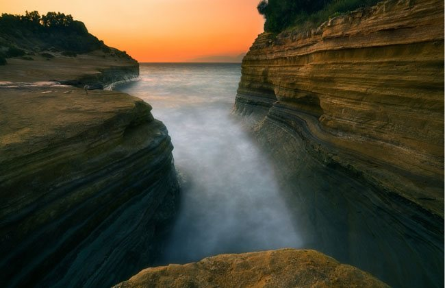 Sidari Cliffs by Krzysztof Browko Wonderland Landscape Photography   Real ?