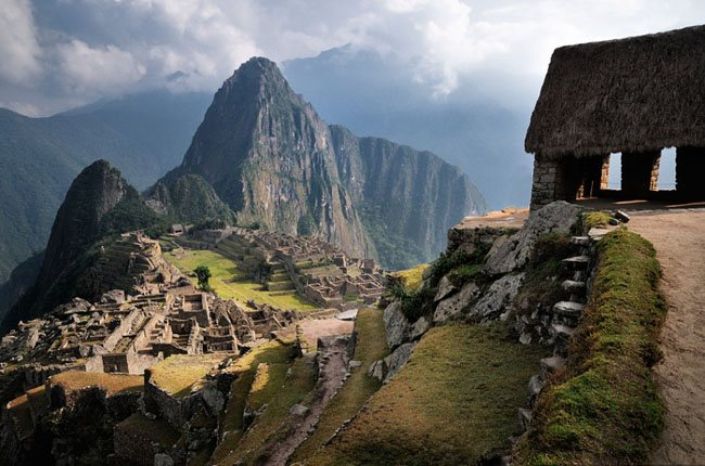 The Machu Picchu Guard Tower Wonderland Landscape Photography   Real ?