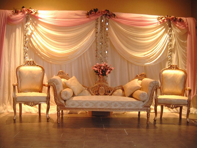 100 venue and stage decoration ideas for Hall decoration ideas for home