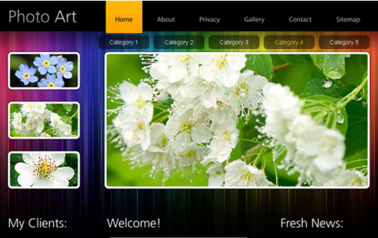 30+ HTML5 CSS3 Templates - Designsmag