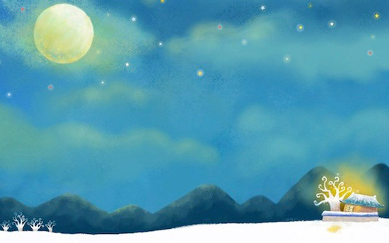 beautiful moon sky wallpaper Striking Cartoon Wallpapers to Customize Your Desktop