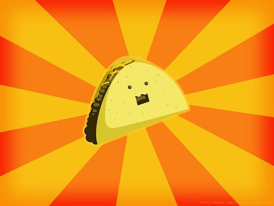 taco Striking Cartoon Wallpapers to Customize Your Desktop