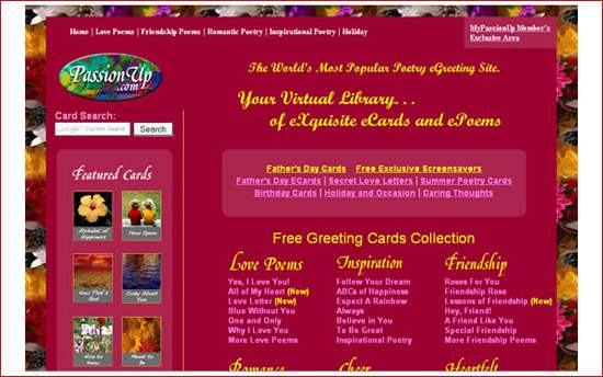 55 favorite websites of greeting cards passionup m4hsunfo