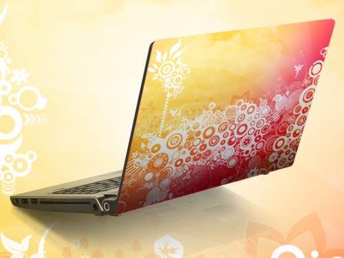 15 Laptop Skin 500x375 50 Creative Laptop Skins and Stickers Design