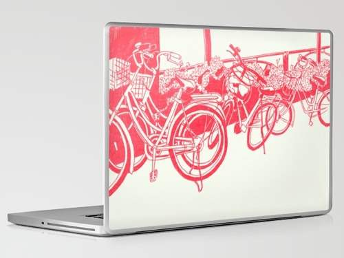 21 Tokyo Bicycles Laptop Skin 50 Creative Laptop Skins and Stickers Design
