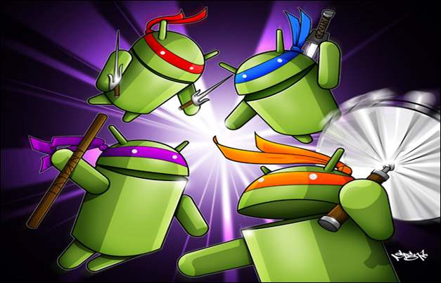 Android TMNT