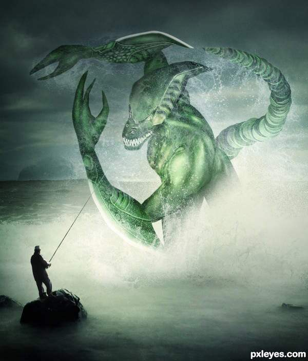 Create A Spectacular Fantasy Sea Monster 50+ Latest Photo Manipulation Tutorials in Photoshop