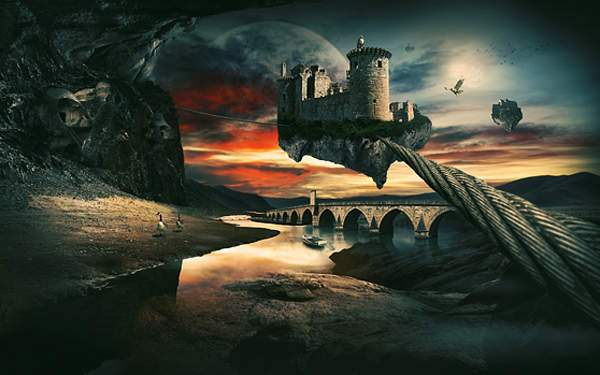 Create A Surreal Landscape Using Photo Manipulation 50+ Latest Photo Manipulation Tutorials in Photoshop
