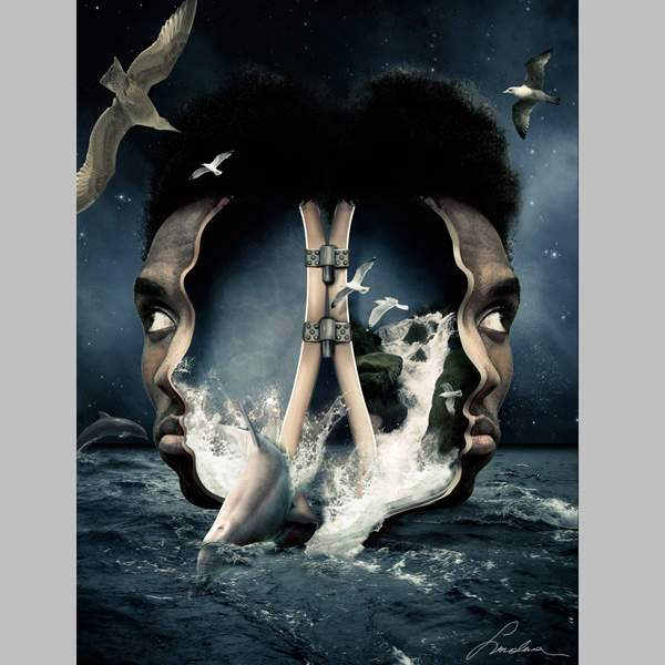 Create A Surreal Out Of Bounds Photo Manipulation In Photosh 50+ Latest Photo Manipulation Tutorials in Photoshop