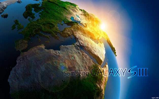 EgFox Galaxy SIII Earth Concept 2012 HD