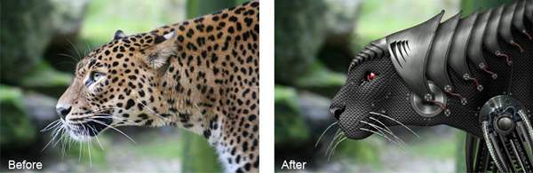 How I Created A Cyborgenic Leopard 50+ Latest Photo Manipulation Tutorials in Photoshop