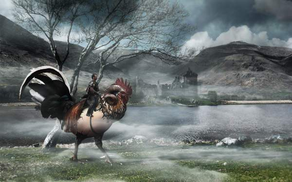 How To Place A Fantasy Creature In A Misty Landscape 50+ Latest Photo Manipulation Tutorials in Photoshop