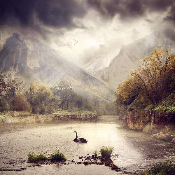 Serene Fantasy Photo Manipulation 50+ Latest Photo Manipulation Tutorials in Photoshop